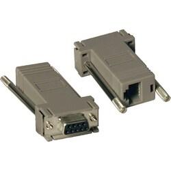 Tripp Lite Null Modem Serial RS232 Modular Adapter Kit 2x DB9F to RJ4