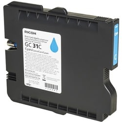 Ricoh GC 31C Cyan Toner Cartridge