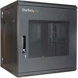 StarTech.com 12U 19in Hinged Wall Mount Server Rack Cabinet w/ Steel