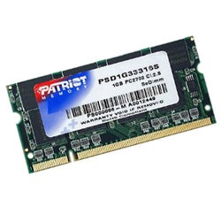 Patriot Memory 1GB PC2-2700 333MHz SODIMM