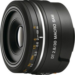Sony 30mm f/2.8 DT Alpha A Mount Macro Prime Lens