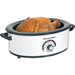 Proctor-Silex 32700Y White 6.5-quart Roaster Oven