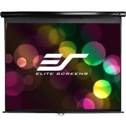 Elite Screens M150UWV2 Manual Ceiling/Wall Mount Manual Pull Down Pro