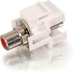 Cables To Go Keystone Snap-in RCA Jack
