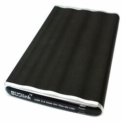 "Buslink Disk-On-The-Go DL-1T-U3 1 TB 2.5"" External Hard Drive"