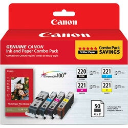 Canon 2945B011 Ink Cartridge - Black, Cyan, Magenta, Yellow