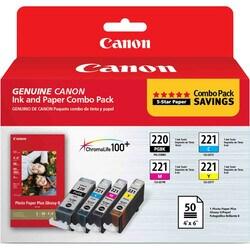Canon 2945B011 Ink Cartridge - Black, Cyan, Magenta, Yellow