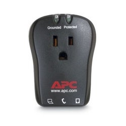 APC Essential Notebook SurgeArrest 1 Outlet W/Tel 120V