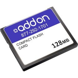 AddOn Cisco MEM3800-64U128CF Compatible 128MB Factory Original Compac