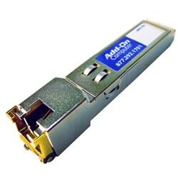 AddOn HP J8177C Compatible TAA Compliant 1000Base-TX SFP Transceiver