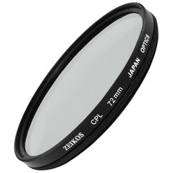 Zeikos Electronics ZE-CPL72 Filter - Polarizer Filter