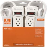 Belkin F5C048-2 6-Outlets Surge Suppressor
