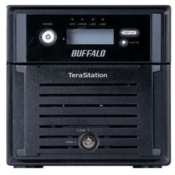 Buffalo TeraStation Duo TS-WX4.0TL/R1 Hard Drive Array - 2 x HDD Inst