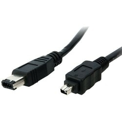 StarTech.com 1 ft IEEE-1394 Firewire Cable 4-6 M/M