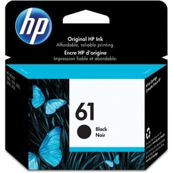 HP No. 61 Ink Cartridge - Black