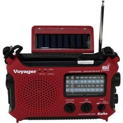Kaito KA500, 5-way Powered Emergency AM/FM/SW NOAA Weather Alert Radi
