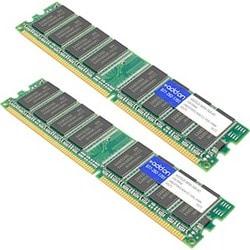 AddOn Cisco ASA5520-MEM-2GB Compatible 2GB (2x1GB) Unbuffered Factory
