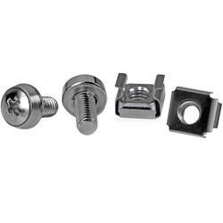 StarTech.com 50 Pkg M6 Mounting Screws and Cage Nuts