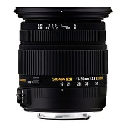 Sigma 17-50mm f/2.8 EX DC OS HSM Zoom Lens for Canon DSLRs