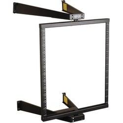 Tripp Lite 12U Wall Mount Pivoting 2-Post Open Frame Rack Cabinet Hin