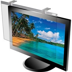 Kantek Protect Deluxe LCD20W Standard Screen Filter Silver