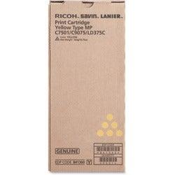Ricoh 841360 Toner Cartridge - Yellow