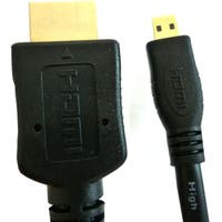 Professional Cable HDMI Male to Micro HDMI Male - 2 Meters (6 Feet)