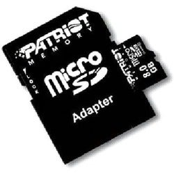 Patriot Memory 8GB microSDHC Class 10 Flash Card