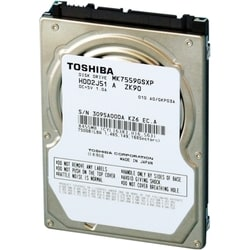 "Toshiba MK7559GSXP 750 GB 2.5"" Internal Hard Drive"