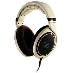 Sennheiser HD598 Premium Audiophile Headphones (Cream/Brown)