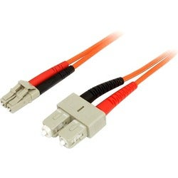 StarTech.com 5m Fiber Optic Cable - Multimode Duplex 50/125 - LSZH -