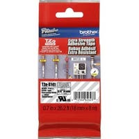 Brother TZ Series Black-on-Clear Industrial Tape