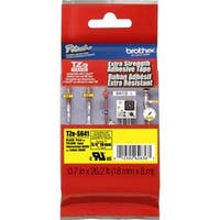 Brother TZ Series Black-on-Yellow Industrial Tape
