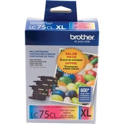 Brother LC753PKS Ink Cartridge (Pack of 3)