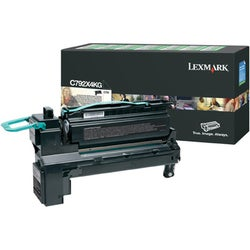 Lexmark C792X4KG Toner Cartridge - Black