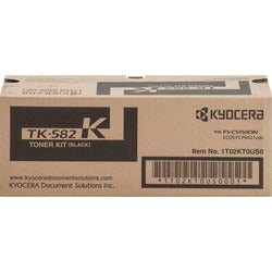 Kyocera TK-582K Original Toner Cartridge - Black