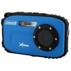Coleman Xtreme C5WP 12 Megapixel Compact Camera - Blue