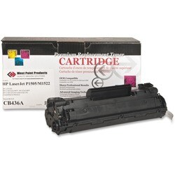 West Point Remanufactured Toner Cartridge - Alternative for HP 36A (C