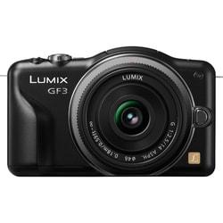 Panasonic Lumix DMC-GF3 Micro Four Thirds Black Camera Body 14mm Lens