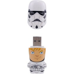 Mimoco 16GB MIMOBOT USB 2.0 Flash Drive - Stormtrooper Unmasked