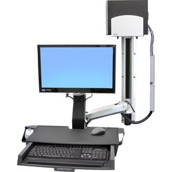 Ergotron StyleView Multi Component Mount for CPU, Flat Panel Display,