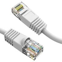 Axiom 50FT CAT6 550mhz Patch Cable Molded Boot (White)
