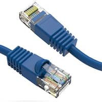 Axiom 20FT CAT6 550mhz Patch Cable Molded Boot (Blue)
