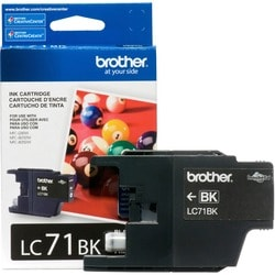 Brother Innobella LC71BK Standard Yield Ink Cartridge