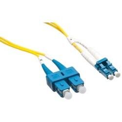 Axiom LC/SC Singlemode Duplex OS2 9/125 Fiber Optic Cable 1m