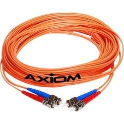 Axiom ST/ST Multimode Duplex OM1 62.5/125 Fiber Optic Cable 5m