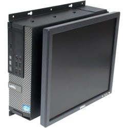 Rack Solutions Wall Mount for Flat Panel Display, Desktop Computer