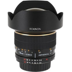 Rokinon FE14M-C 14 mm f/2.8 Super Wide Angle Lens for Canon EF/EF-S