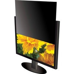 Kantek LCD Monitor Blackout Privacy Screens Black