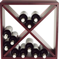 Wine Enthusiast Compact Cellar Cube Wine Rack